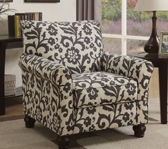 Hamerton Armchair Upholstery Color: Gray/Blue