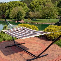 Sites Double Tree Hammock with Stand Size: 48