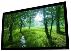 Cinema White Fixed Frame Projection Screen Viewing Area: 92