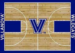 NCAA College Home Court Villanova Novelty Rug Rug Size: Rectangle 5'4