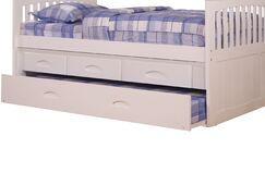 Edmond 3 Drawer Underbed Storage Trundle Unit