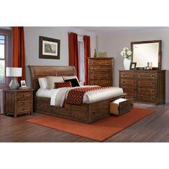 Morgan Storage Bed Size: King