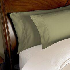 Omar Pillowcase Set Size: Standard, Color: Sage