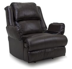 Douglas Manual Rocker Recliner Upholstery: Chocolate