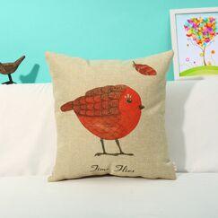 Ambler Birds and Stone Print Throw Pillow