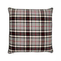 Esterel Plaid Scotland Tartans 100% Cotton Throw Pillow Size: 24