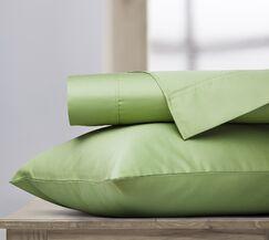 400 Thread Count 100% Cotton Sheet Set Color: Sage, Size: Queen