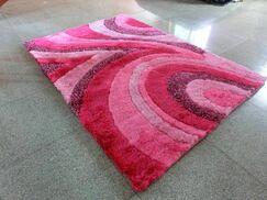 Pink Area Rug Rug Size: 3' x 5'