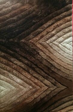 Primm Brown Area Rug Rug Size: 6'6