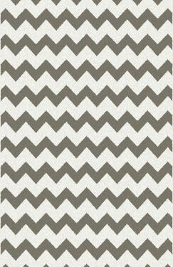 Cendy Gray/White Area Rug Rug Size: Runner 2' x 7'2