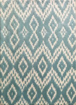 Dorida Turquoise Area Rug Rug Size: 7'11
