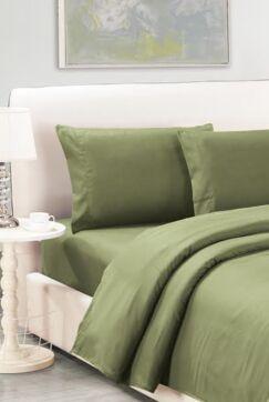 Sheet Set Color: Moss, Size: King