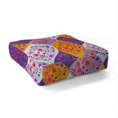 Heather Dutton Swizzlestick Party Girl Square Floor Pillow