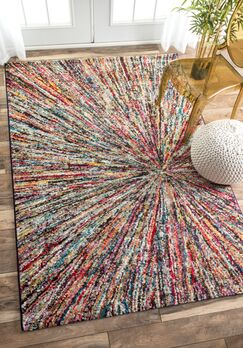 Lucy Indoor Area Rug Rug Size: Rectangle 4'1
