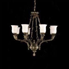 Toledo 8-Light Shaded Chandelier