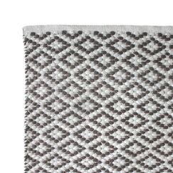 Hand Woven Charcoal Area Rug Rug Size: 3' x 5'