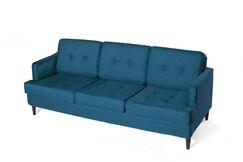 Chingford Standard Sofa Upholstery: Peacock