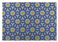 Sun Burst Kitchen Mat Mat Size: Rectangle 4' x 5'