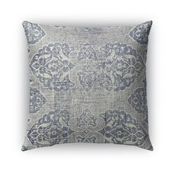 Burgos Burlap Indoor/Outdoor Throw Pillow Size: 20