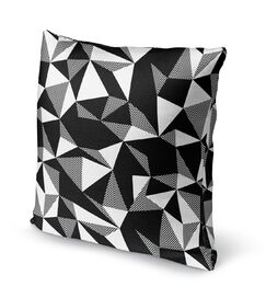 Shattered Accent Pillow Size: 18