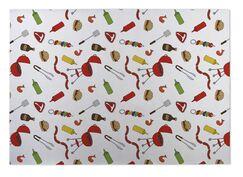Anding BBQ Indoor/Outdoor Doormat Mat Size: 5' x 7'