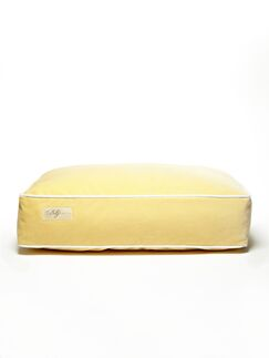 Microsuede Eco Friendly Polyester Fill Cushion Dog Bed Size: Small (18