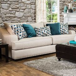 Bari Sofa Upholstery: Beige