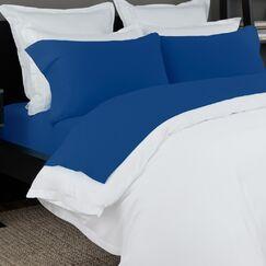 100% Cotton Solid Jersey Sheet Set Size: King, Color: Cobalt Blue