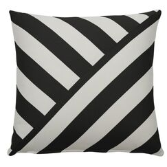 Halo Indoor/Outdoor Throw Pillow (Set of 2) Color: Midnight, Size: 20