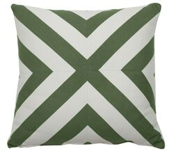 Halo Indoor/Outdoor Throw Pillow (Set of 2) Color: Kelly, Size: 20