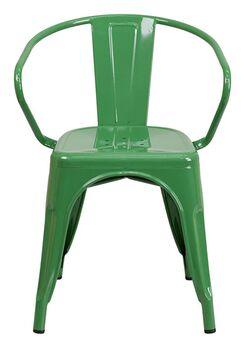 Arm Chair Finish: Green