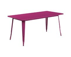 Jesse Indoor Coffee Table Color: Purple