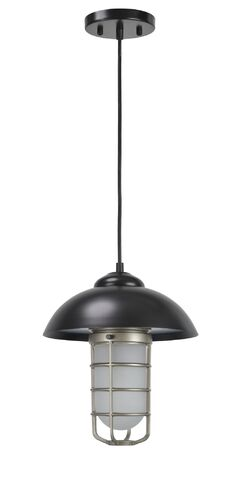 Pinellas Adjustable 1-Light Dome Pendant
