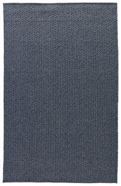Genevrier Dark Slate Indoor/Outdoor Area Rug Rug Size: Rectangle 4' x 6'