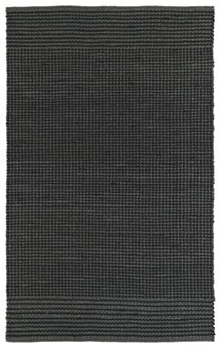 Emilia Charcoal Area Rug Rug Size: Rectangle 5' x 7'6