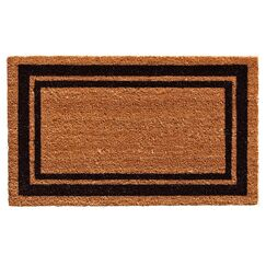 Sumiko Border Doormat Mat Size: Rectangle 2' x 3', Color: Green