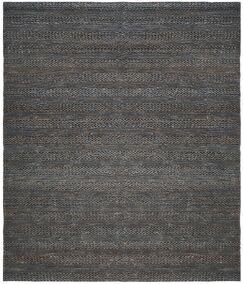 Eco-Smart Hand-Woven Gray Area Rug Rug Size: Rectangle 9' x 12'