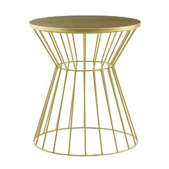 Lulu End Table Color: Gold