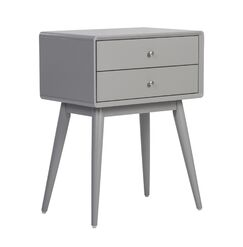 Rory End Table Color: French Gray