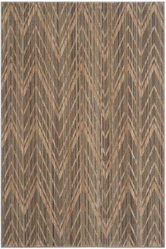 Infinity Dark Brown Area Rug Rug Size: Rectangle 5'1