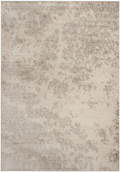 Vintage Ivory/Gray Area Rug Rug Size: Rectangle 9' x 12'