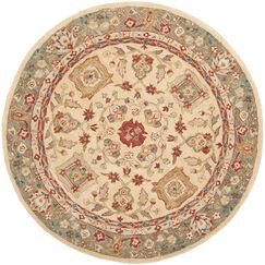 Pritchard Hand Knotted Area Rug Rug Size: Rectangle 3' x 5'