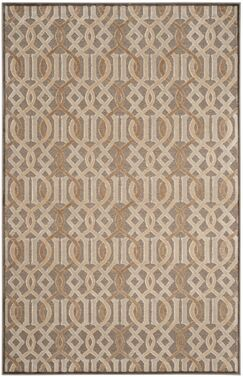 Van Wyck Brown Area Rug Rug Size: Rectangle 5'3 x 7'6