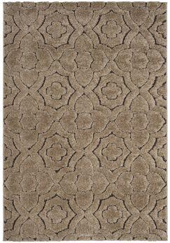 Stonybrook Brown Area Rug Rug Size: Rectangle 5'1