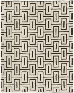 Syed Knotted Cotton Ivory Area Rug