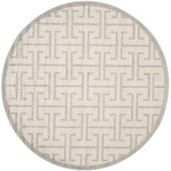 Fehi Ivory Area Rug Rug Size: Round 7'