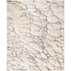 Wynkoop Hand Tufted Gray/Beige Area Rug Rug Size: Rectangle 9' x 12'