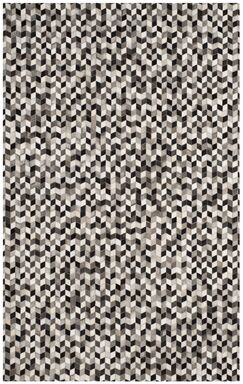Patricio Leather Hand Tufted Gray Area Rug Rug Size: Rectangle 4' x 6'