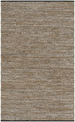 Glostrup Contemporary Hand Tufted Brown Area Rug Rug Size: Rectangle 5' x 8'