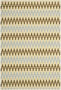 Kelston Ivory Outdoor Area Rug Rug Size: Rectangle 5'1